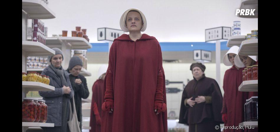 """""""The Handmaid's Tale"""", ou """"O Conto da Aia"""", é uma boa série para quem gosta de Filosofia: ela narra um futuro distópico onde as mulheres não têm direitos"""