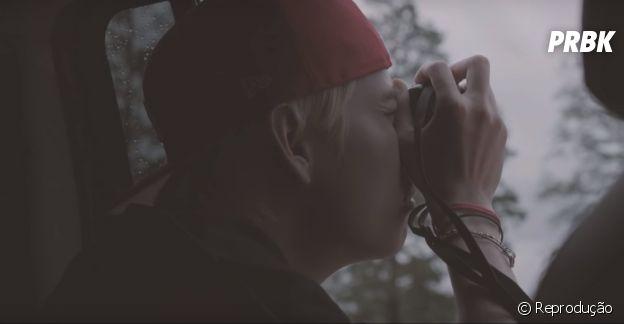 """Kim Taehyung, o V do BTS, surpreende o fandom com uma música solo inédita. Ouça """"Winter Bear"""""""