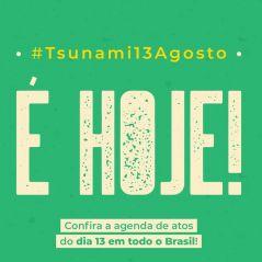 #Tsunami13Agosto: saiba mais sobre os protestos em defesa da educação que acontecerão no Brasil