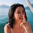 """Lana Condor, de """"Para Todos os Garotos que já Amei 2"""", compartilha algumas fotos de bastidores de gravação"""