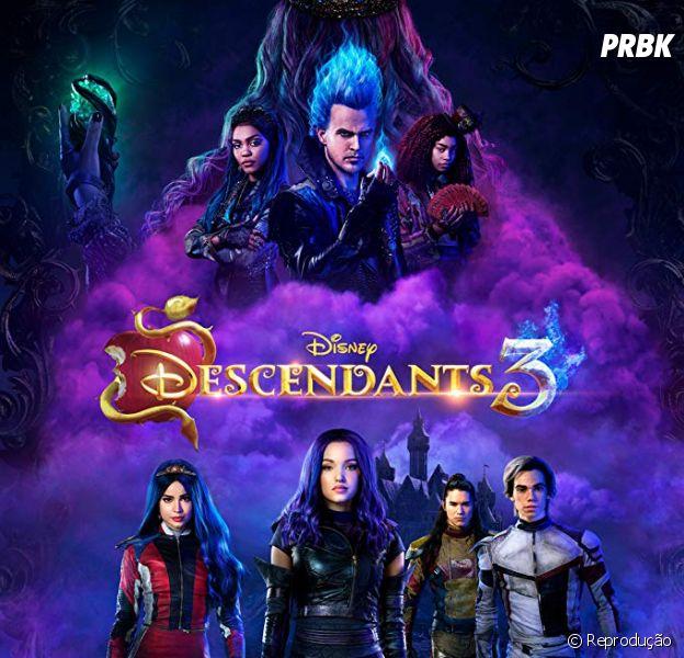 """""""Descendentes 3"""": filme bate recorde de audiência na televisão"""