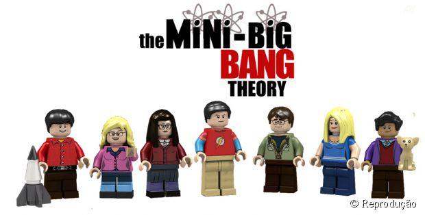 """O elenco de """"The Big Bang Theory"""" em formato de LEGO"""
