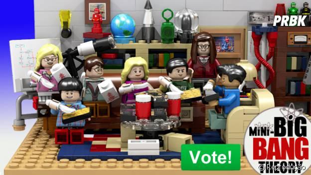 """Até o cenário de """"The Big Bang Theory"""" foi transformado em LEGO neste projeto"""