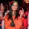Dia das Bruxas: Nina Dobrev estava fantasiada de Billie Eilish