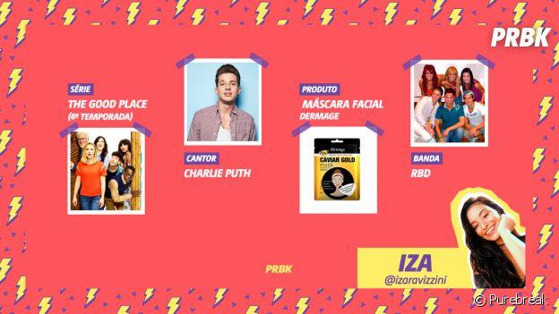 """Viciei: Iza indica a 4ª temporada de """"The Good Place"""", RBD e muito mais!"""
