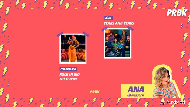 Viciei: Ana indica série Years and Years e a cobertura do Multishow do Rock in Rio