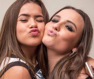 Maisa conhece Shawn Mendes e cantor a chama de Larissa Manoela