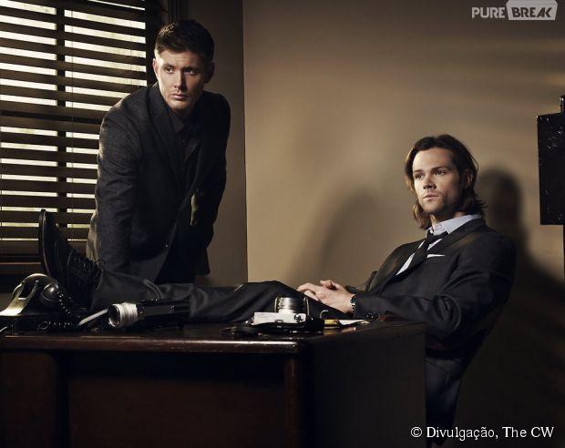 """Jensen Ackles e Jared Padalecki contam o que vem pela frente em """"Supernatural"""""""