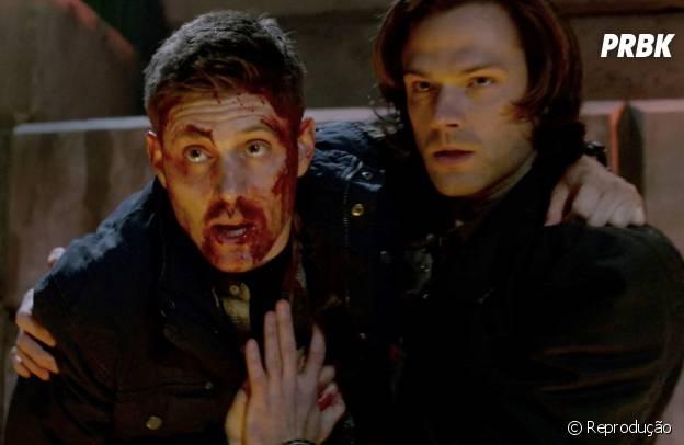 """Dean (Jensen Ackles) e Sam (Jared Padalecki) já passaram por poucas e boas em """"Supernatural"""""""