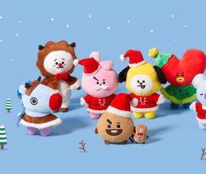 Presentes que todo fã do BTS merece ganhar: pelúcia da BT21 versão de Natal