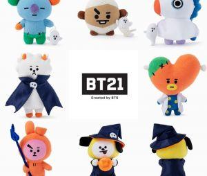 Presentes que todo fã do BTS merece ganhar: BT21 versão Halloween