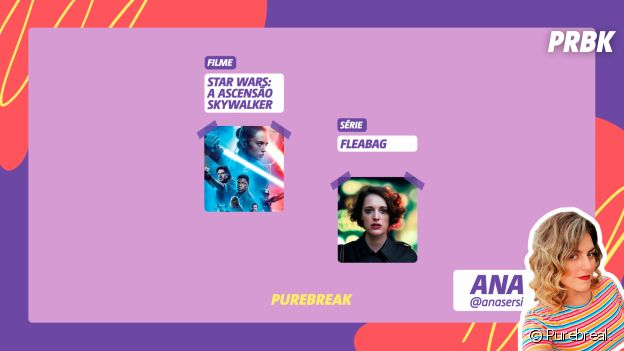 "Viciei: Ana indica ""Star Wars: A Ascensão Skywalker"" e ""Fleabag"""