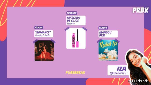 """Viciei: Iza indica álbum """"Romance"""", da Camila Cabello, máscara de cílios da Essence e mais"""
