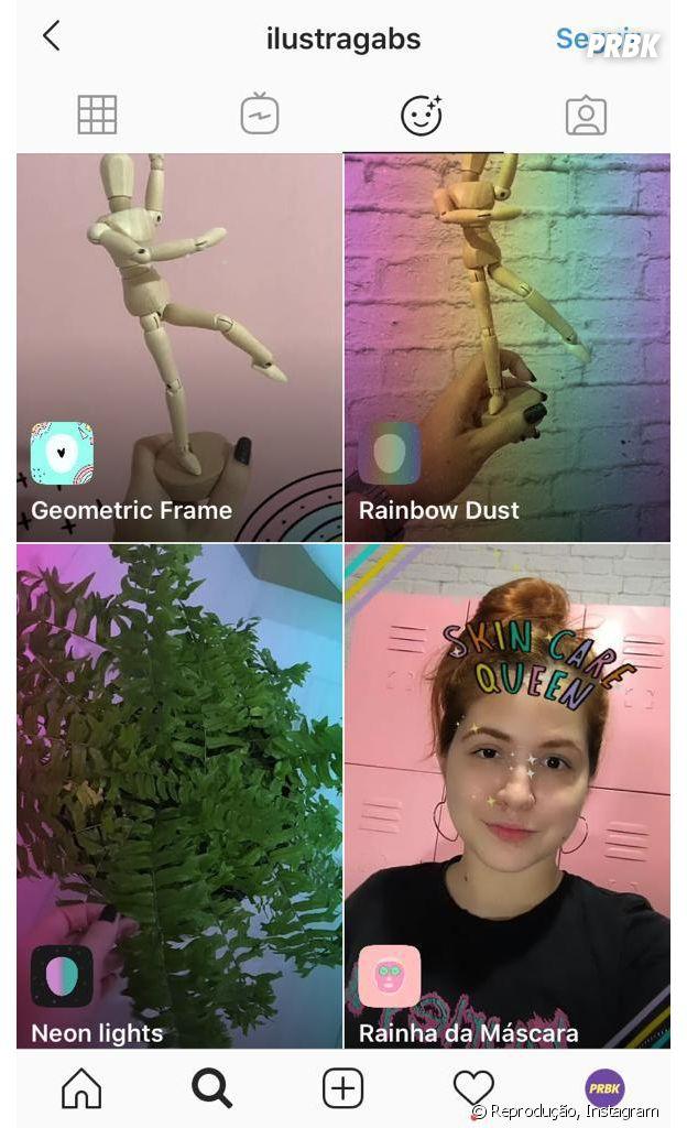 Instagram: @ilustragabs e mais perfis que você deve seguir para encontrar novos filtros