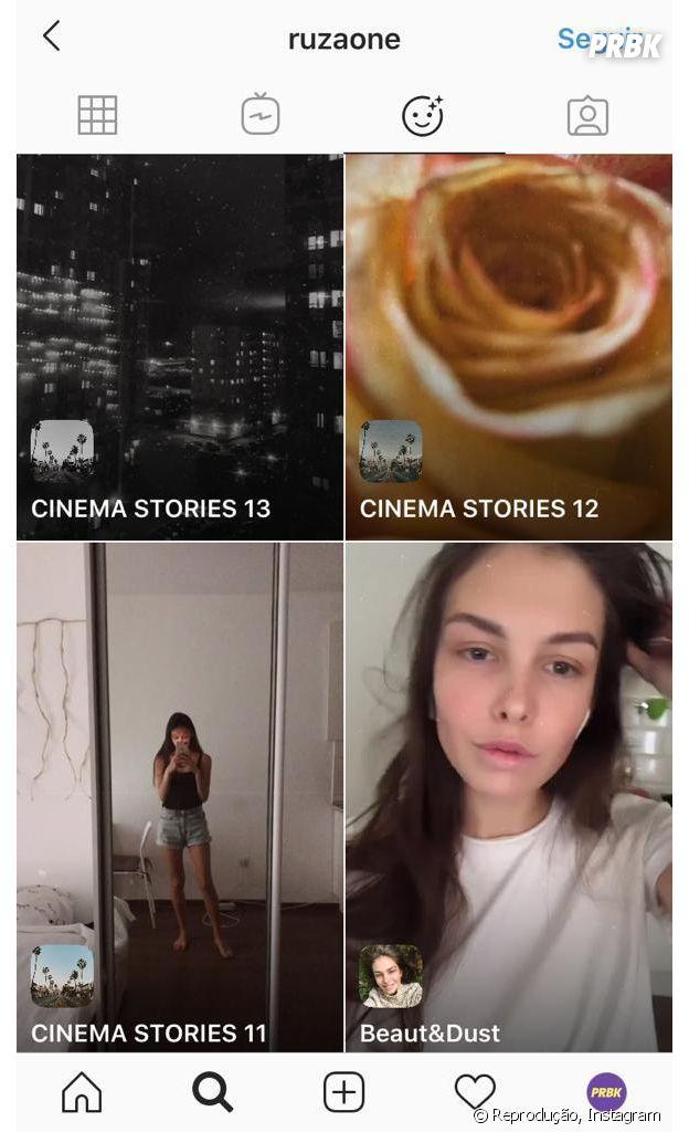 Instagram: @ruzaone e mais perfis que você deve seguir para encontrar novos filtros