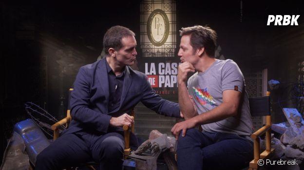 """Pedro Alonso e Rodrigo de la Serna, Berlim e Palermo, respectivamente, comentam momentos dos seus personagens na 4ª temporada de """"La Casa de Papel"""""""