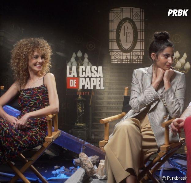 """La Casa de Papel"": entrevista com Alba Flores (Nairóbi), Esther Acebo (Estocolmo) e Darko Peric (Helsinki) para o Purebreak"