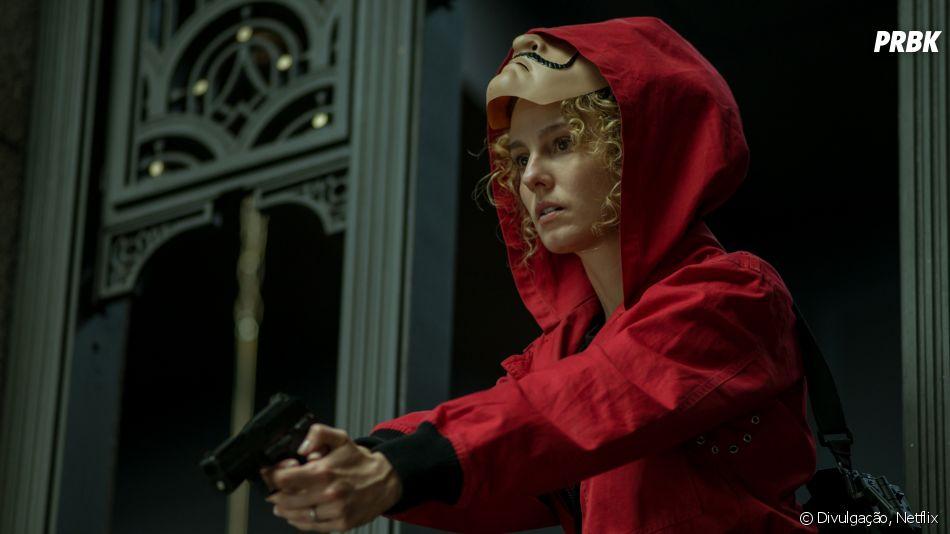 """""""La Casa de Papel"""": Estocolmo (Esther Acebo) terá um papel mais relevante na 4ª temporada?"""