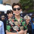 RM e Jungkook, do BTS, posam no tapete vermelho do Billboard Music Awards 2018