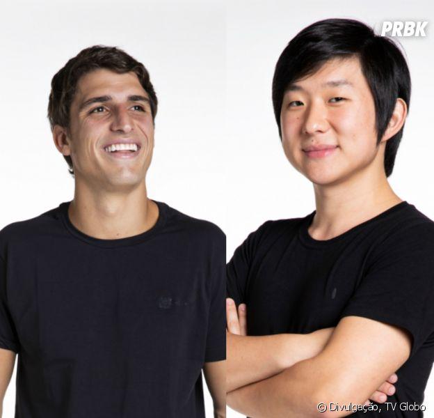 """""""BBB20"""": Após eliminação, Felipe Prior e Pyong Lee combinam de se encontrar"""