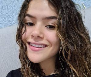 Maisa faz post emocionante no Instagram sobre o seu cabelo durante a transição capilar