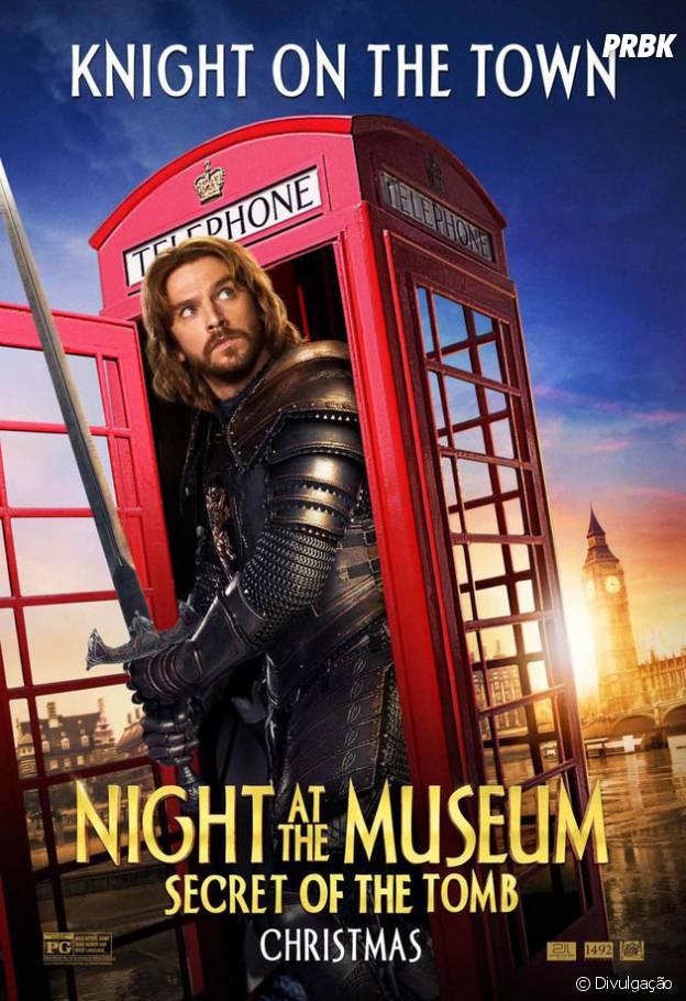 """""""Uma Noite no Museu 3"""" vai ser o último filme da franquia de comédia"""
