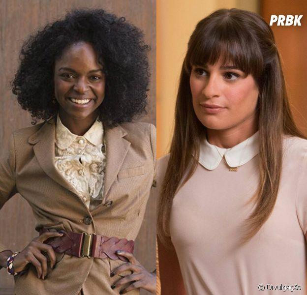 "Ex-atriz de ""Glee"" acusa Lea Michele de racismo e recebe apoio do elenco"