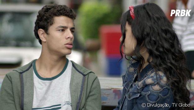"""Tato (Matheus Abreu) e K2 (Carol Macedo) em """"Malhação - Viva a Diferença"""""""