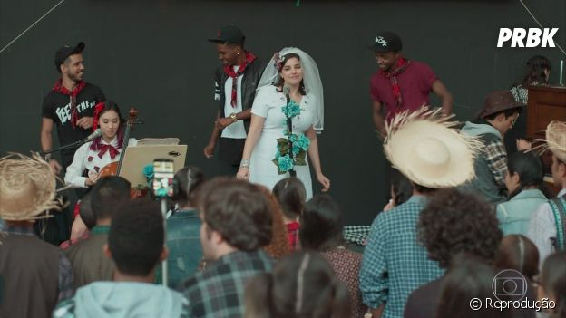 """Keyla (Gabriela Medvedovski) em """"Malhação - Viva a Diferença"""""""