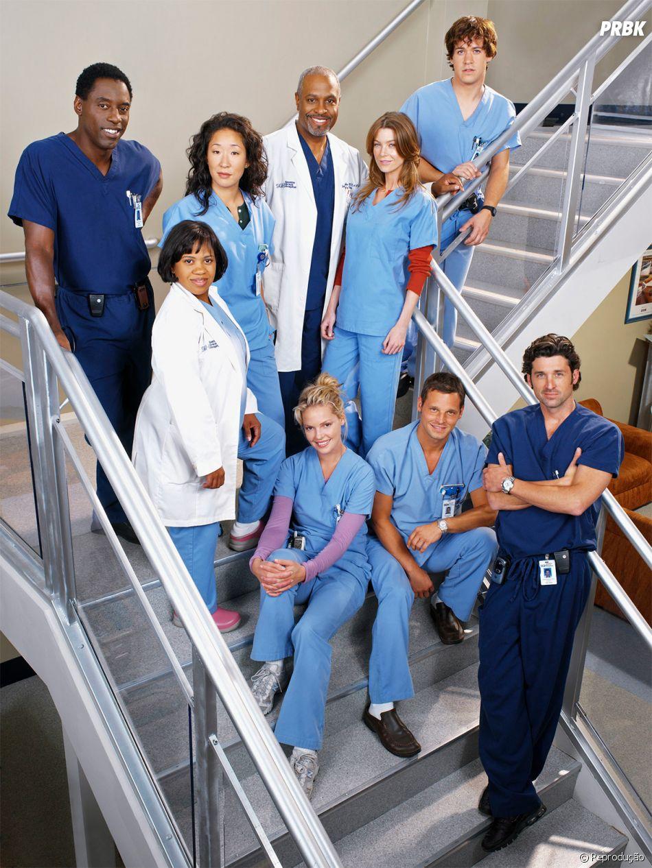 """Ellen Pompeo é uma das poucas do elenco original de """"Grey's Anatomy"""" que continua na série"""