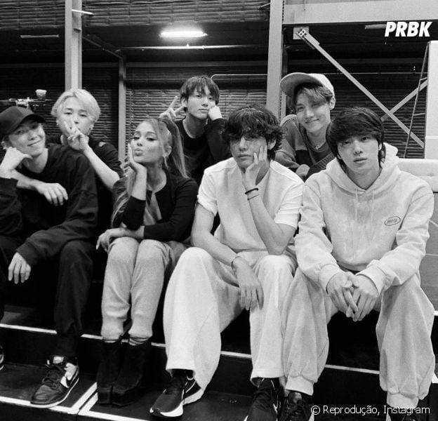 BTS e Ariana Grande podem fazer parceria no comeback do grupo e estas são as provas