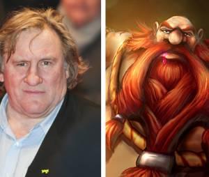"""Gérard Depardieu parece até um irmão do Gragas de """"League Of Legends"""""""
