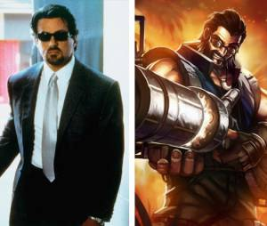 "Silvester Stallone tem tudo a ver com o estilo do Graves de ""League Of Legends"""