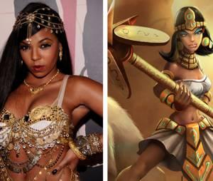 """Ashanti parece que foi a inspiração da Nidalee de """"League Of Legends"""""""