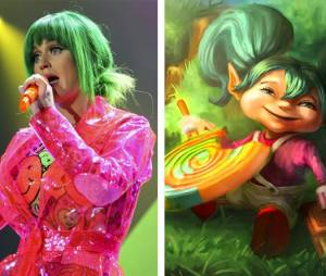 "Katy Perry e seus pirulitos tem tudo a ver com a Poppy na skin Lollypop de ""League Of Legends"""