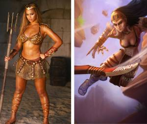 "Beyoncé ficou a cara da Sivir de ""League Of Legends"""
