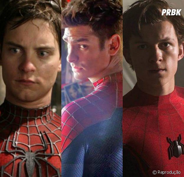 """""""Homem-Aranha 3"""": Tom Holland, Andrew Garfield e Tobey Maguire podem estar juntos em próximo filme"""