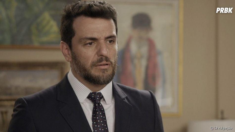 """""""A Força do Querer"""": Caio é interpretado por Rodrigo Lombardi"""