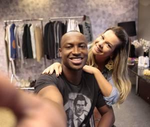 Fernanda Souza está noiva do cantor Thiaguinho e deve casar em 2015