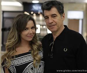 """Em """"Malhação"""", Fernanda Souza é par romântico do ator Paulo Betti"""