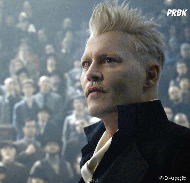 """Johnny Depp é demitido de """"Animais Fantásticos"""""""