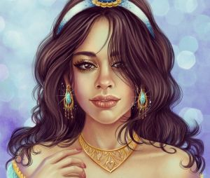 O que falar da Camila Cabello como Jasmine?