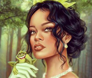 """Rihanna de Tiana, de """"A Princesa e o Sapo"""" ficou perfeita"""