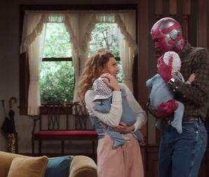 """WandaVision"" mostrará Wanda (Elizabeth Olsen) tendo que lidar com a perda de Visão (Paul Bettany)"