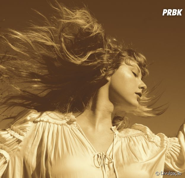 """""""Fearless Taylor's Version"""": Taylor Swift divulga regravação de álbum e capa do disco nas redes sociais"""