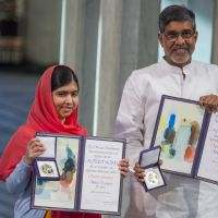 Com apenas 17 anos, Malala Yousafzai é a mais jovem a receber o prêmio Nobel da Paz