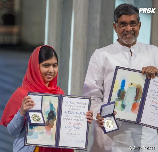 Com apenas 17 anos Malala Yousafzai é a mais jovem a receber o prêmio Nobel da Paz