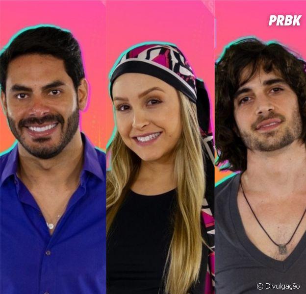 """Paredão """"BBB21"""": Rodolffo, Carla e Fiuk, quem será o proximo eliminado?"""