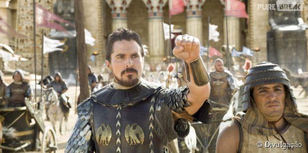 """Protagonizado por Christian Bale, """"Êxodo: Deuses e Reis"""" é o líder de vendas deste final de semana"""