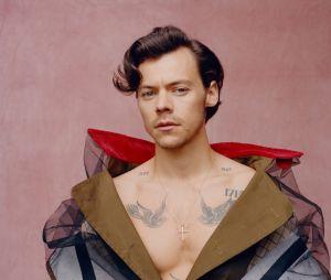 """Alguém disse """"ícone fashion""""? Harry Styles para a Vogue"""